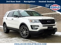 Used, 2016 Ford Explorer Sport, White, GP4281-1