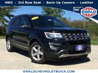 Used, 2016 Ford Explorer XLT, Black, GP4318-1