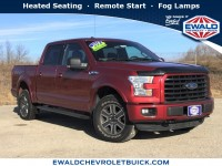 Used, 2016 Ford F-150 XLT, Red, GP4259-1