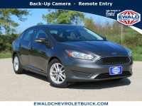 Used, 2016 Ford Focus SE, Silver, 19C545B-1