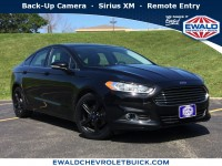 Used, 2016 Ford Fusion SE, Black, 18C644A-1