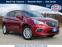 Used, 2017 Buick Envision Preferred, Red, GP4588-1
