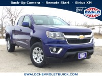 Used, 2017 Chevrolet Colorado 4WD LT, Blue, 19C354A-1
