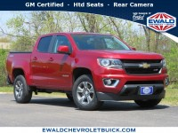 Certified, 2017 Chevrolet Colorado 4WD Z71, Red, GN4688-1