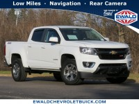 Certified, 2017 Chevrolet Colorado 4WD Z71, White, GP4618-1
