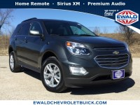 Used, 2017 Chevrolet Equinox LT, Gray, 19C383A-1
