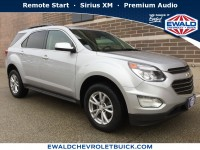 Certified, 2017 Chevrolet Equinox LT, Silver, GN4182-1