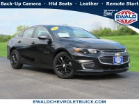Used, 2017 Chevrolet Malibu LT, Black, 19B60A-1