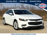 Used, 2017 Chevrolet Malibu LT, White, GN4188-1