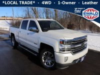 Used, 2017 Chevrolet Silverado 1500 HIGH COUNTRY, White, 21C288B-1