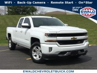 Used, 2017 Chevrolet Silverado 1500 LT, White, GP4496-1