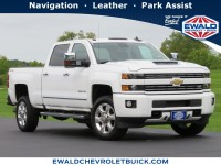Used, 2017 Chevrolet Silverado 2500HD LTZ, White, 20C1120A-1