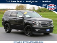 Used, 2017 Chevrolet Tahoe Premier, Black, GP4842A-1