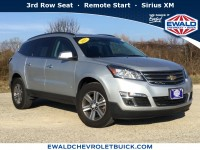 Used, 2017 Chevrolet Traverse LT, Silver, GP4016-1