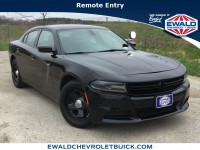 Used, 2017 Dodge Charger Police, Black, GP4383-1