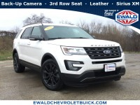Used, 2017 Ford Explorer XLT, White, GP4348A-1