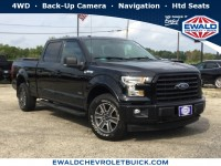 Used, 2017 Ford F-150, Black, GP4536-1
