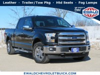 Used, 2017 Ford F-150, Black, GP4568-1