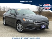 Used, 2017 Ford Fusion SE, Gray, GP4281A-1