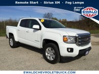 Used, 2017 GMC Canyon 4WD SLE, White, GP3850-1