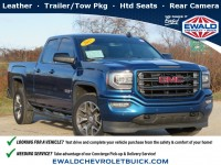 Certified, 2017 GMC Sierra 1500 SLT, Blue, GP4578-1