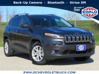 Used, 2017 Jeep Cherokee Latitude, Gray, 20C46A-1