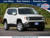 Used, 2017 Jeep Renegade Latitude, White, 20C1019A-1