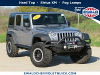 Used, 2017 Jeep Wrangler Unlimited Sport, Silver, 19C433A-1