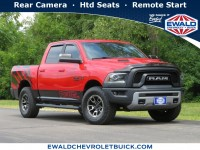 Used, 2017 Ram 1500 Rebel, Red, 20C526A-1