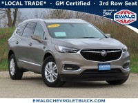 Certified, 2018 Buick Enclave Essence, Gray, 21B58A-1