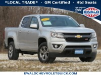 Certified, 2018 Chevrolet Colorado 4WD Z71, Silver, 21C197A-1