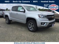 New, 2018 Chevrolet Colorado 4WD Z71, Silver, 18C1148-1