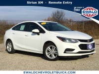 Used, 2018 Chevrolet Cruze LT, White, GP4128-1
