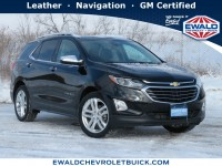 Certified, 2018 Chevrolet Equinox Premier, Black, GP4933-1