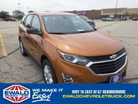 New, 2018 Chevrolet Equinox LS, Orange, 18C28-1