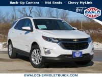 Used, 2018 Chevrolet Equinox LT, White, 20C348A-1