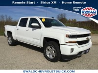 Used, 2018 Chevrolet Silverado 1500 LT, White, GP3908-1