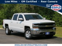 Certified, 2018 Chevrolet Silverado 1500 LT, White, GP4721B-1