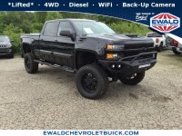 New, 2018 Chevrolet Silverado 2500HD LTZ, Black, 18C128-1