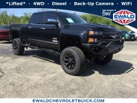 New, 2018 Chevrolet Silverado 2500HD LTZ, Black, 18C898-1