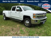 New, 2018 Chevrolet Silverado 3500HD LTZ, White, 18C297-1