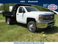 New, 2018 Chevrolet Silverado 3500HD Work Truck, White, 18C631-1