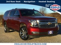 Used, 2018 Chevrolet Suburban Premier, Red, GP4184-1