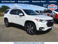 Used, 2018 Chevrolet Traverse LT Leather, White, GP4109-1