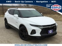 New, 2019 Chevrolet Blazer RS, White, 19C579-1