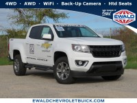 New, 2019 Chevrolet Colorado 4WD Z71, White, 19C1010-1