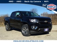 New, 2019 Chevrolet Colorado 4WD Z71, Black, 19C278-1