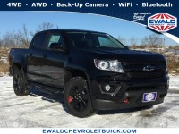 New, 2019 Chevrolet Colorado 4WD LT, Black, 19C313-1