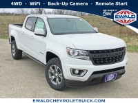 New, 2019 Chevrolet Colorado 4WD Z71, White, 19C657-1