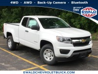 New, 2019 Chevrolet Colorado 4WD Work Truck, White, 19C907-1